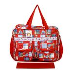 BeyBee Mama's Bag {Diaper Bag} (Red, One Size)