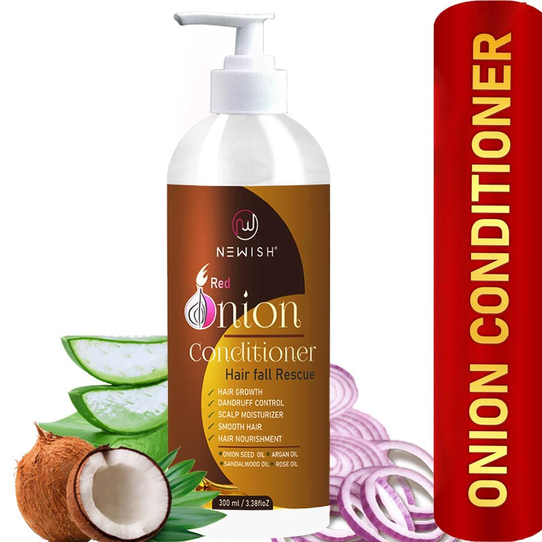 Newish Red Onion Conditioner for hair Growth