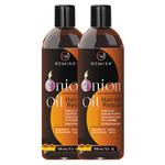 Newish Red Onion Hair Oil for Hair Growth Men and Women 100ml (Pack of 2)