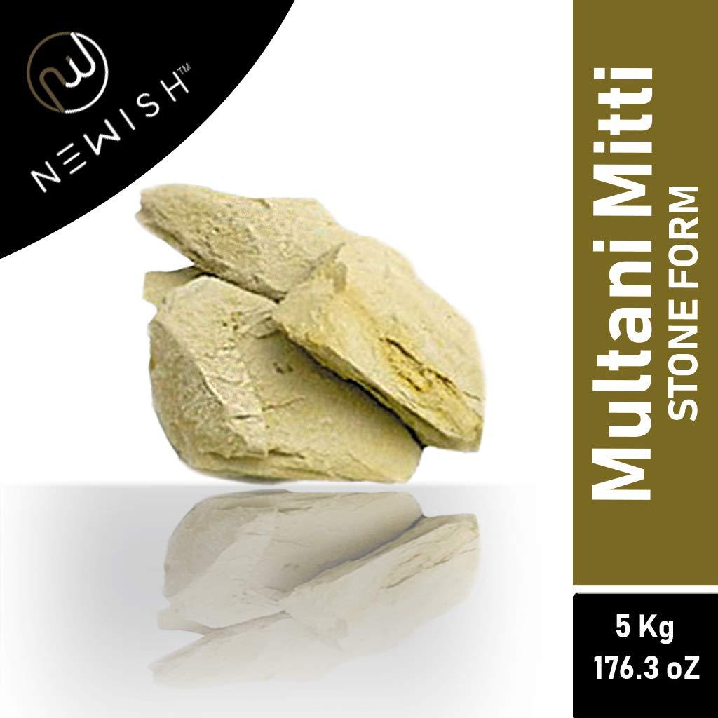Newish Organic Multani Mitti Earth Stone(5 kg)