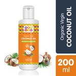 BeyBee Extra Virgin Organic Coconut Oil for New Born Babies Skin (200 ml)