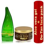Newish Combo Pack for gift (Aloe Vera+De Tan Face Pack)