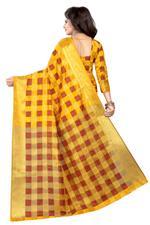 Self Design Bollywood COTTON SILK Saree