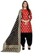 Brocade Woven Salwar Suit Material  (Unstitched)