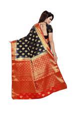 Woven Bollywood COTTON SILK Saree