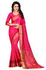 Woven Banarasi Cotton Silk Saree
