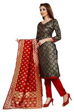 Cotton Woven Salwar Suit Material  (Unstitched)