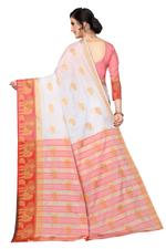 Woven Banarasi Cotton Silk Saree