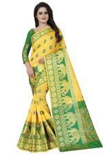 Paisley Fashion Poly Silk Saree