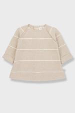 Ivette Striped Fleece Dress