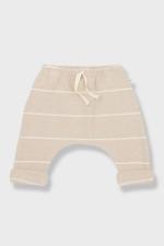 Charles Striped Fleece Baggy Pants