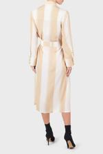 Neutral Mag Ali Shirt Dress