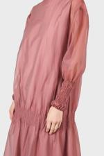 Pink Layered Organza Dress