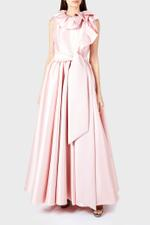 Mikado Asymmetrical Ball Gown