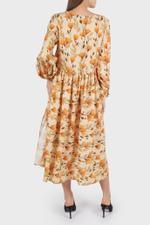 Danica Gathered Skirt Dress