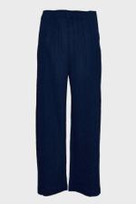 Ramie Pleats Pants