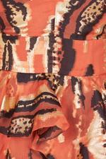 Audrey Animal Print Long Dress