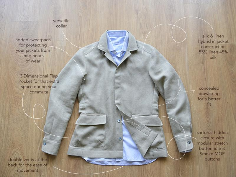 The City Safari  Jacket