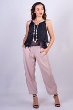 Miella Beige Sporty Joggers (PN029-Beige)