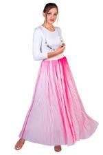 Miella Pink Bella Neon Stripe Skirt (SK008-Pink)