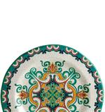 """Moments Style Rustic Cabana Round Plate - 9"""""""