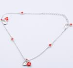 FR Accessories 925 Silver Heart Anklet Anklets 5