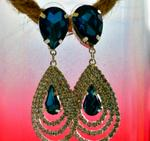 FR Accessorires Chic Evening Earrings Earrings 4