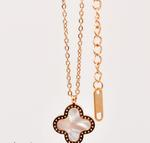 FR Accessories 1000 Word Clover Necklace Necklace 8