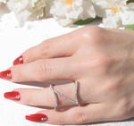 FR Accessories Sparkling 925 Silver Rings Rings 7