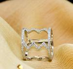 FR Accessories Geometric Silver Ring Rings 9
