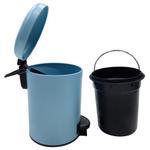 Leman Light Blue Pedal Bin