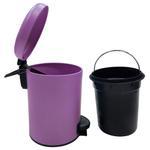 Leman Purple Pedal Bin