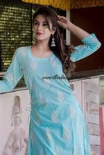 Blue Bijiya Suit Set