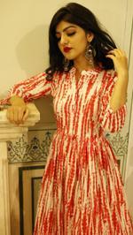 Tie & Dye Maxi Dress