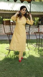 Honey Chikan Suit Set