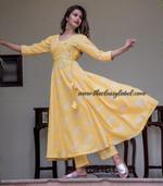 Yellow Bijiya Suit Set
