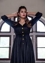 Black Rayon Dress