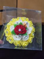 Handmade Floral Hair Khopa Set