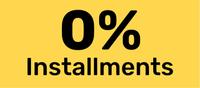 0% installment