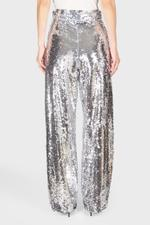 Sequin Straight Pants