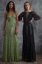 Panther Lace Long Dress