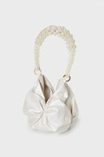 Rosh Pearl Detail Leather Tote