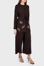 Zaira Set Jacket with Inner+Pants