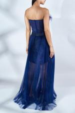 Tara Tulle Pleated Dress