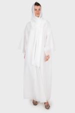 Soft Tulle Abaya Set