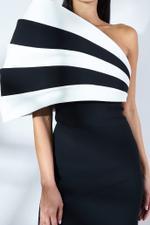 Boca Dual Tone Crepe Dress