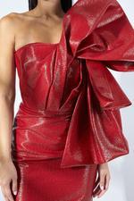 Bevilacqua Rafia Dress