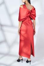 Borgone Silk Mikado Dress