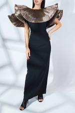 Basaluzzo Ruffled Dress