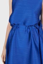 Dive Pleated Midi Dress